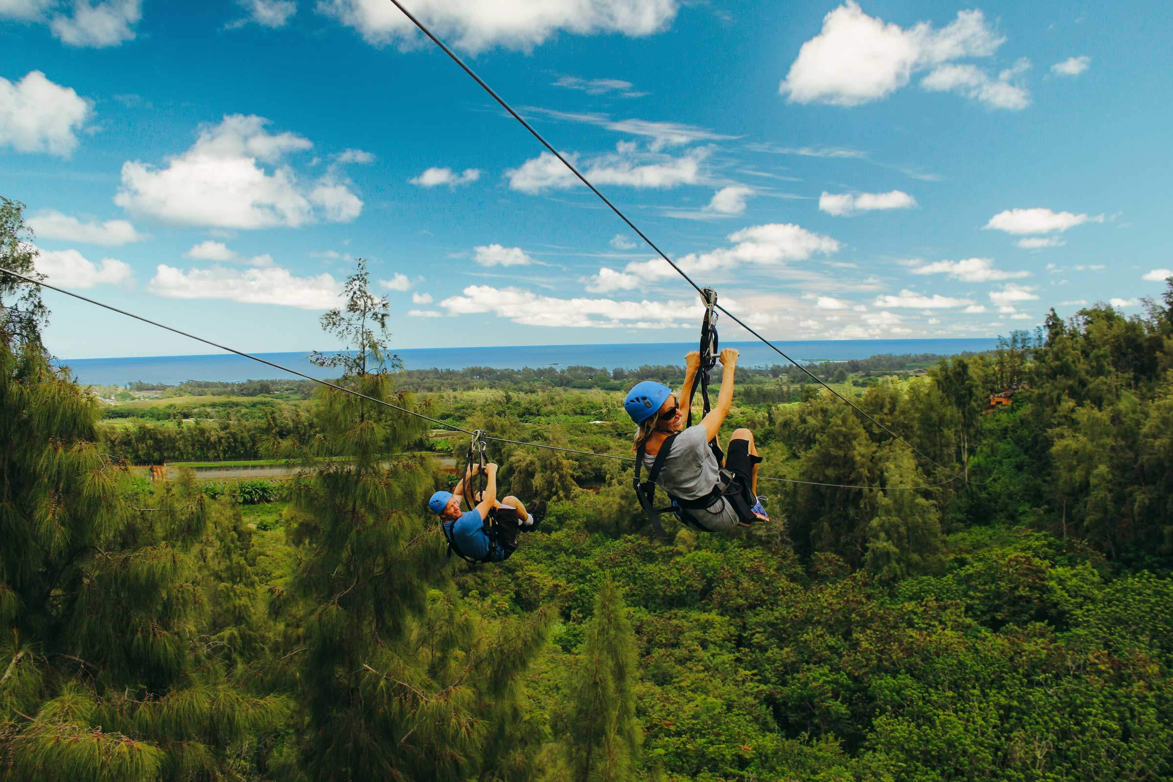 Your Top Questions About Ziplining in Oahu Hawaii Answered