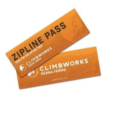CLIMB Works Keana Farms Zipline Pass image