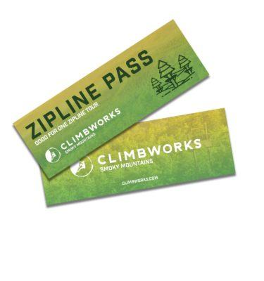 CLIMB Works Smoky Mountains Zipline Pass