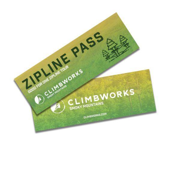 CLIMB Works Smoky Mountains Zipline Pass