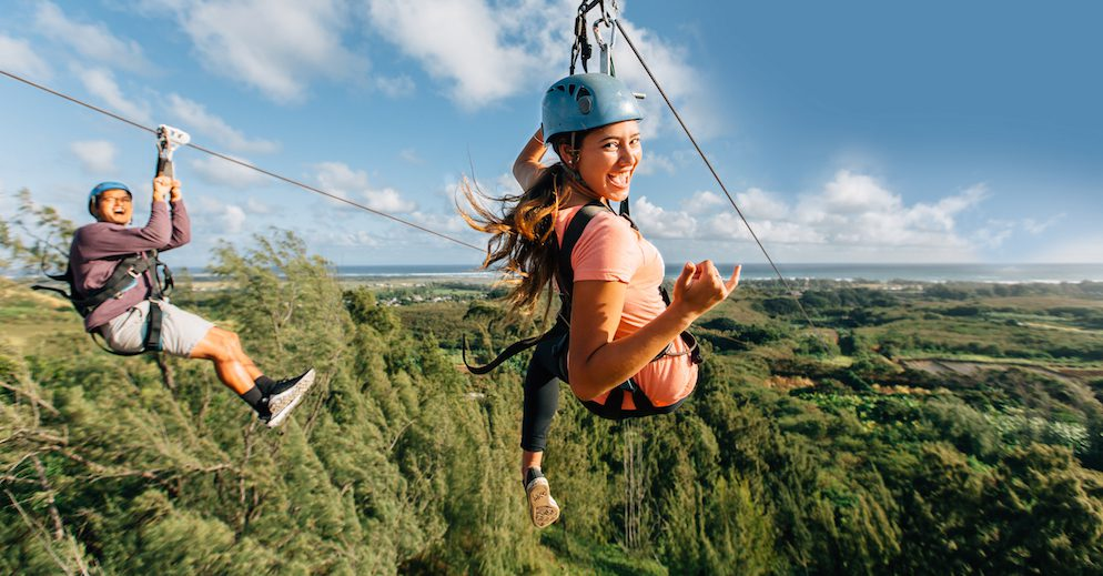 17 Photos That Will Make You Want to Zipline in Oahu Right Now