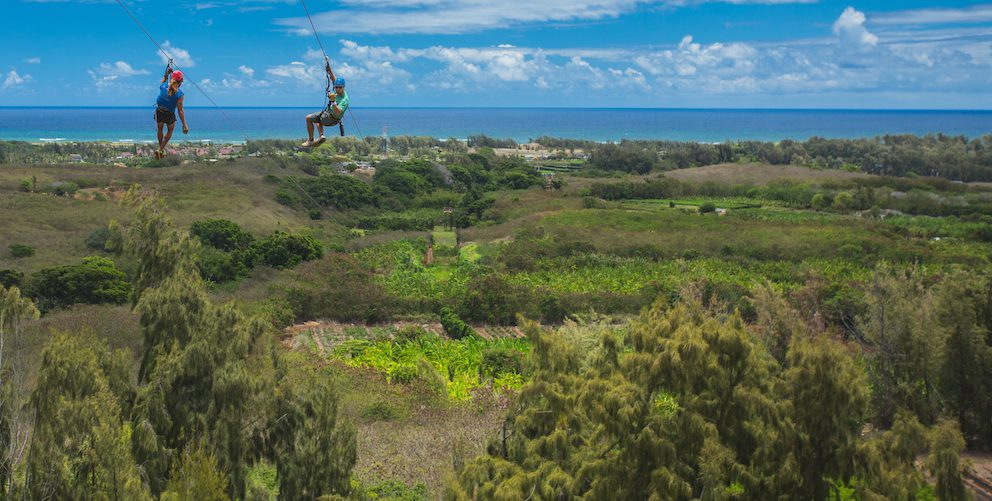 4 Reasons You Don't Want to Miss the Chance to Zipline in Oahu, Hawaii