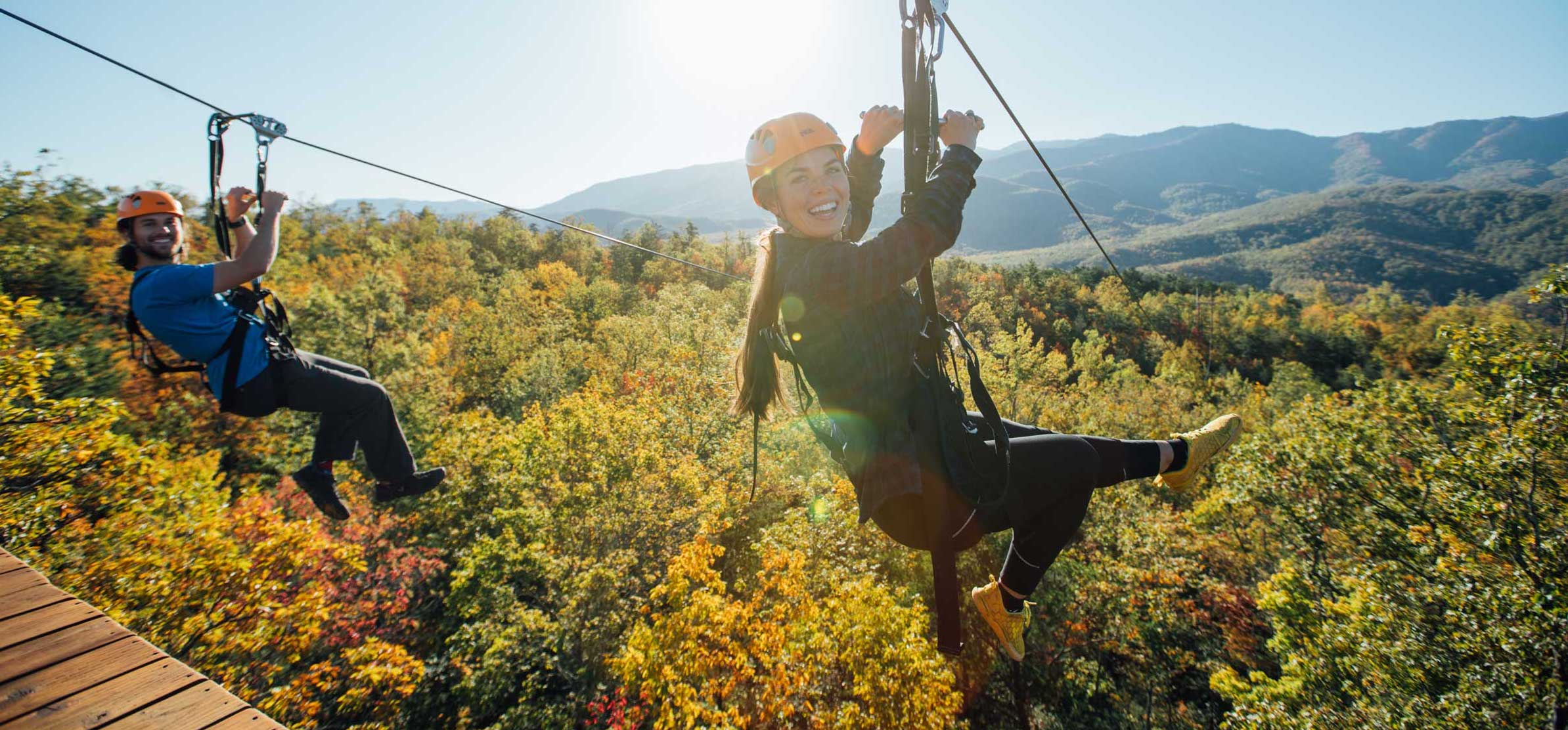 4 Things to Know About CLIMB Works' Mountaintop Zipline Tour in the Smoky Mountains