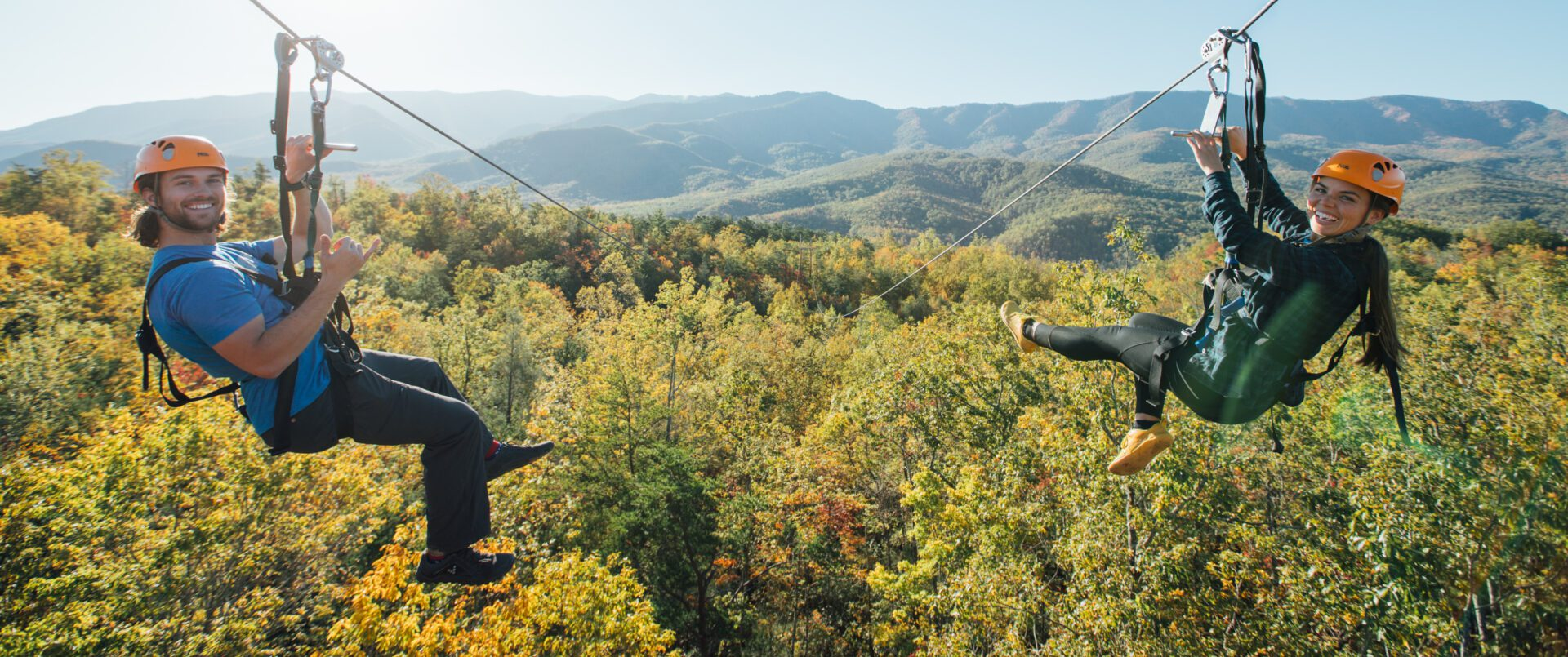 4 Reasons People Love Ziplining in the Smoky Mountains at CLIMB Works