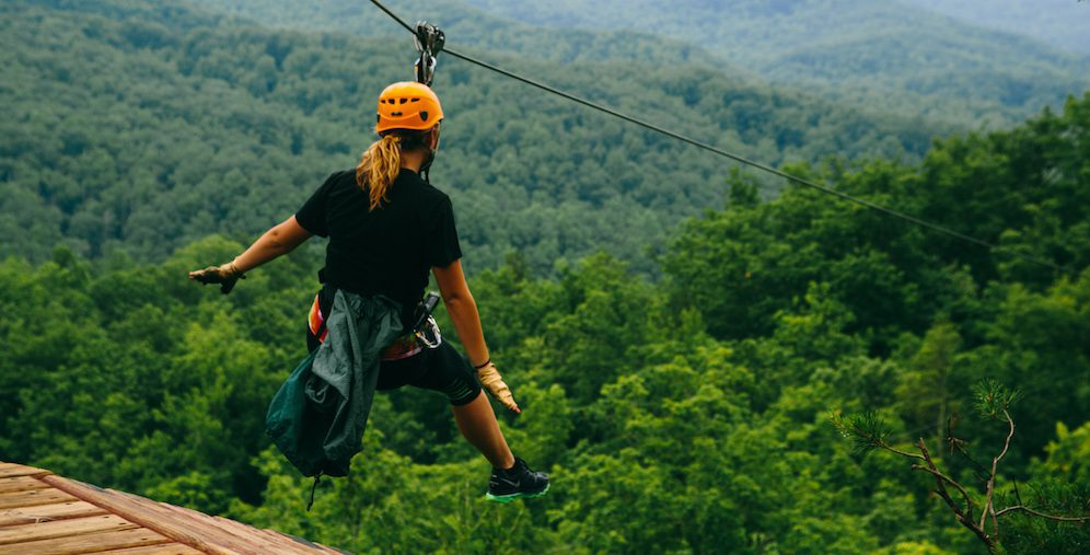 Why You Should CLIMB at Our Ziplines in Gatlinburg