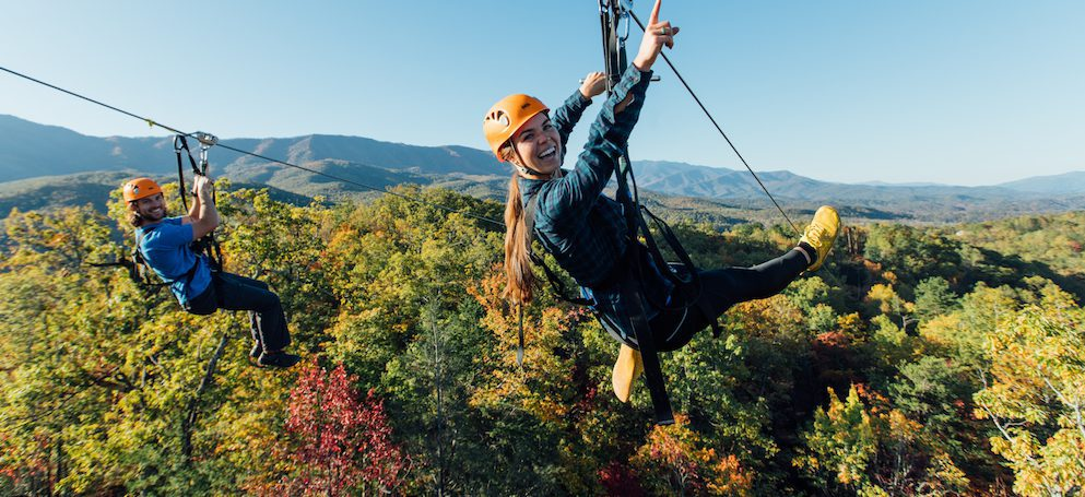 Why You Have to Try CLIMB Works' Mountaintop Ziplines in Gatlinburg