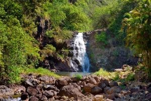 Waimea Valley in Oahu