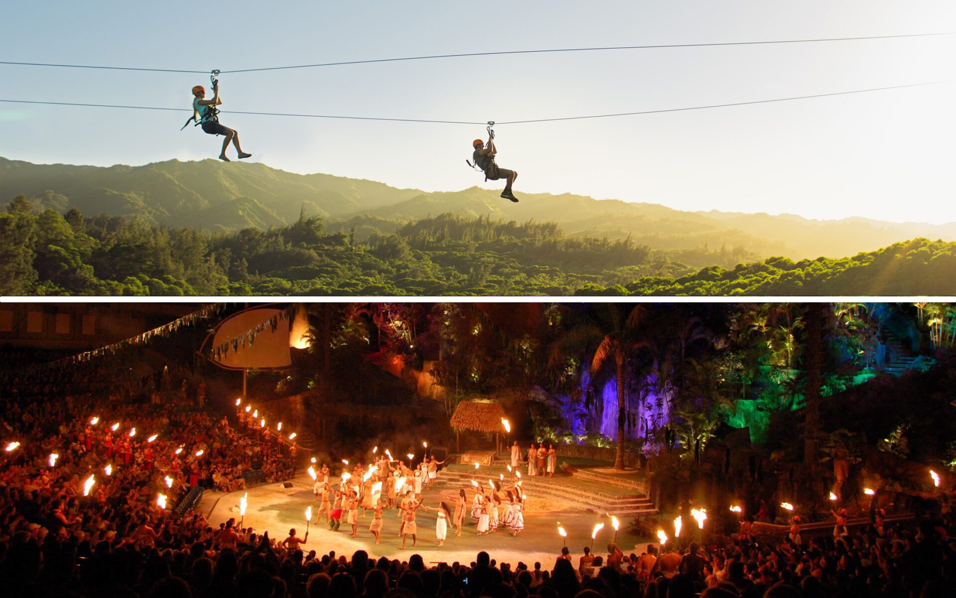 CLIMB Works Keana Farms and Polynesian Cultural Center Ambassador Prime Package