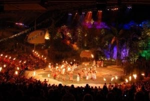 Ha show at Polynesian Cultural Center