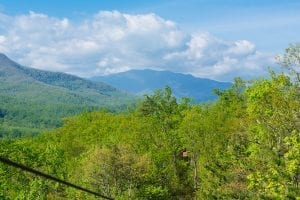 beautiful Smoky Mountain scenery