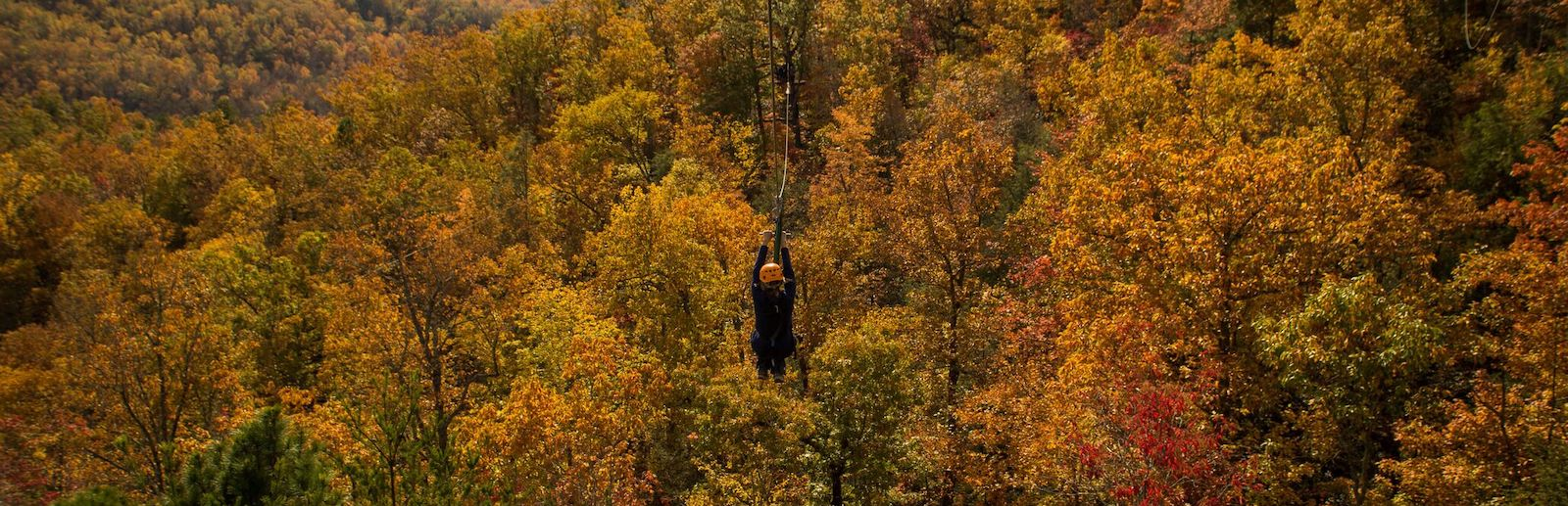 Why Our Mountaintop Zipline Tour is the Best Way to Celebrate Fall in the Smoky Mountains
