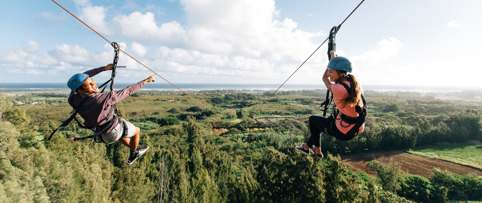 4 Things Visitors Love When They Zipline in Hawaii at CLIMB Works
