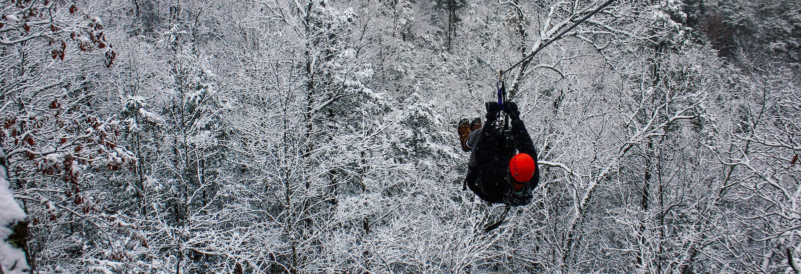 4 Reasons to Try Our Smoky Mountain Ziplines in the Winter