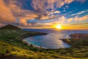 Hanauma Bay in Oahu