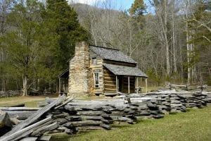 john oliver cabin in the smoky mountains
