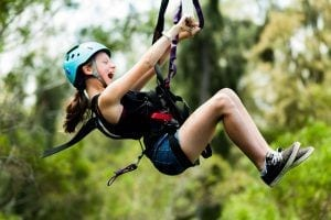 kid ziplining in oahu