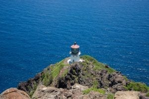 makapuu lighthouse in oahu hawaii