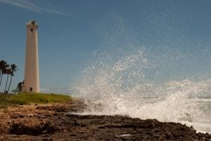 barbers point lighthouse in oahu hawaii