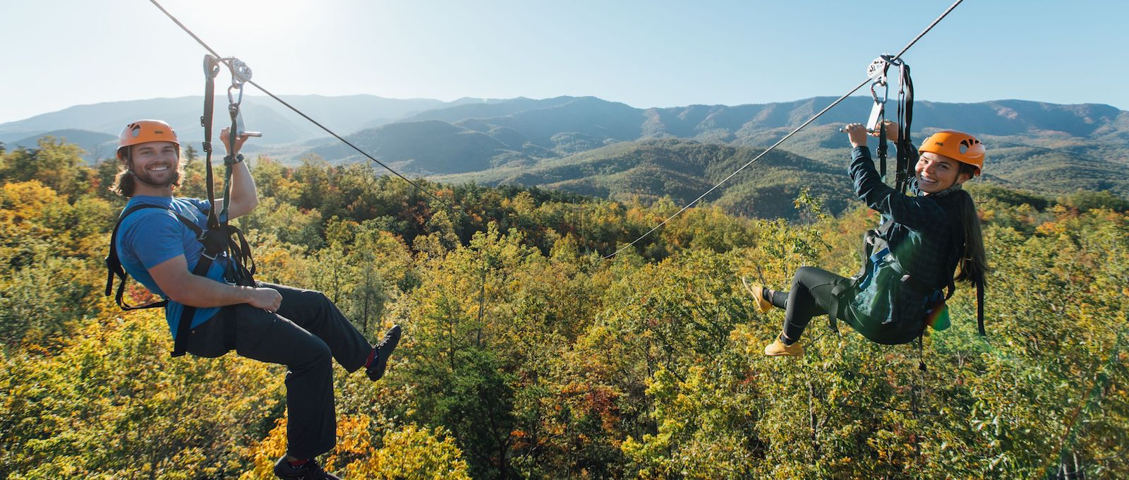 Top 4 Reasons Our Ziplines in the Smoky Mountains are a Perfect Team Building Activity