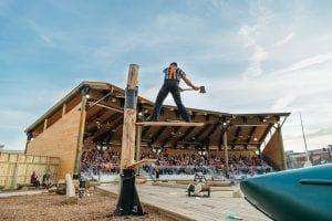 Lumberjack Feud Show in Pigeon Forge