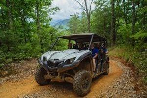 ATV ride in Gatlinburg