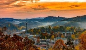 gatlinburg in the fall