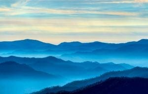 blue smoky mountains
