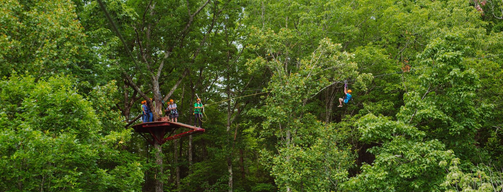 4 Benefits of the Braking System on Our Ziplines in the Smoky Mountains
