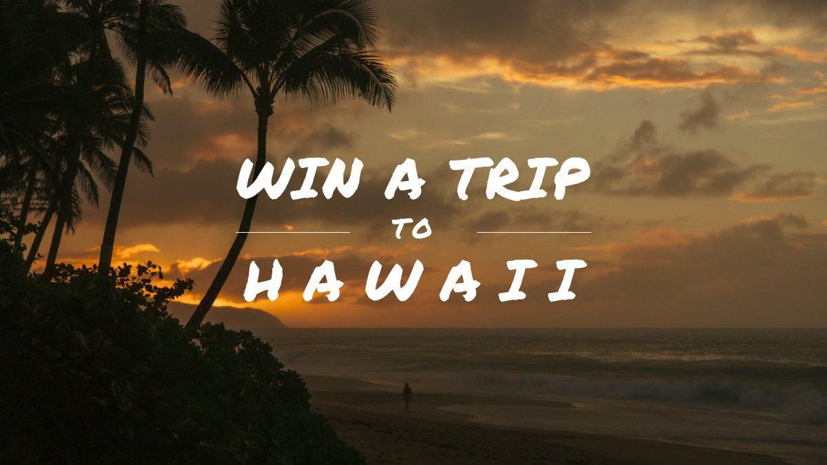 hawaii giveaway badge